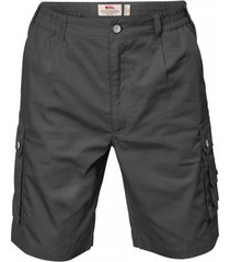fjällräven korte broek fjällräven men sambava shade shorts dark grey