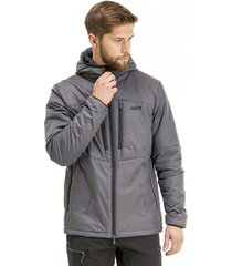 chaqueta congruent steam-pro hoody gris oscuro lippi