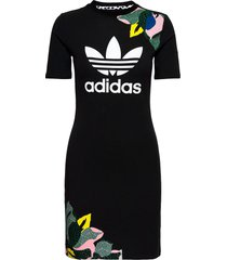 tee dress kort klänning svart adidas originals