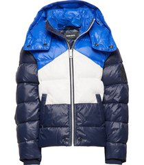 jsmith jacket gevoerd jack blauw diesel