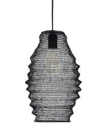 lampa wisząca ali silver - i czarna