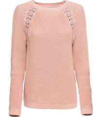 maglione con pizzo (rosa) - rainbow