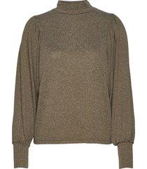 bxselma pullover - stickad tröja grön b.young