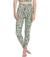 sage women's everyday inkspot print leggings