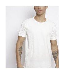 camiseta santo luxo man veludo branco