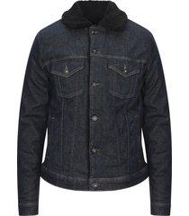 trussardi jeans denim outerwear