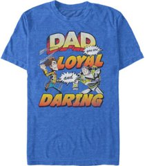 disney pixar men's toy story dad you are loyal, short sleeve t-shirt