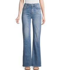 current/elliott women's the scooped jarvis jeans - love me always - size 26 (2-4)