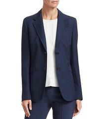 two button blazer jacket
