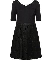 dresses woven korte jurk zwart esprit collection