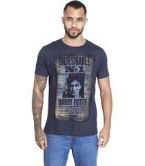 camiseta sideway harry potter undesirable no. 1 - preta