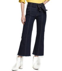 jeans culotte lazo 01 ema azul five