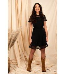 femme9 jurk zwart romee