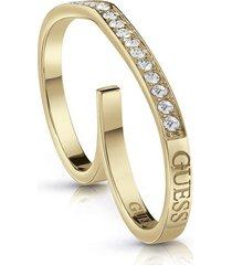 anillo guess shine on me /ubr28004-54- dorado