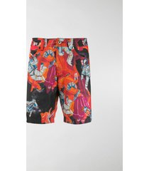 valentino infinity city swimming shorts