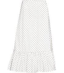shakira knälång kjol vit baum und pferdgarten