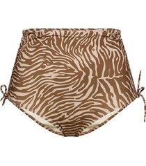 gytea bikini bottom aop 10725 bikinitrosa brun samsøe samsøe
