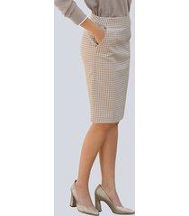 kjol alba moda beige::mullvad