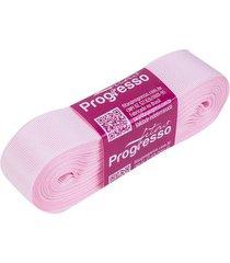 fita de gorgurão gp nº05 22mm peça com 10m rosa 206