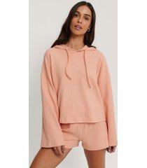 trendyol pyjamasset i lös passform - pink