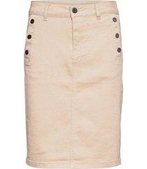 frlomax 3 skirt kort kjol beige fransa