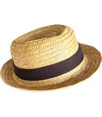 chapéu panamá artestore em palha de trigo