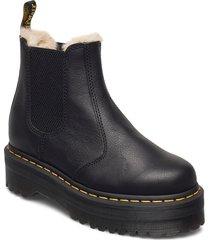 2976 quad fl black pisa shoes chelsea boots svart dr. martens