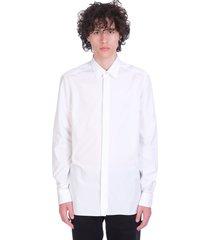 ermenegildo zegna shirt in white cotton