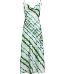 akilina dress maxiklänning festklänning grön guess jeans