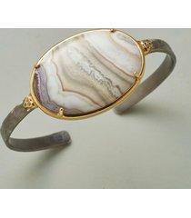 agate cuff bracelet bracelet