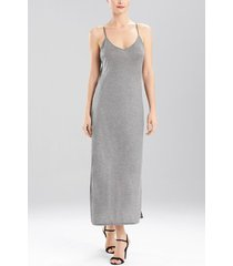 charlize nightgown, women's, grey, size s, josie natori