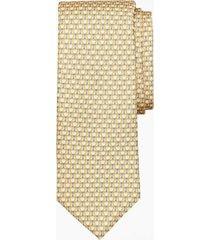 corbata horseshoe print amarillo brooks brothers