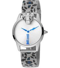animal stainless steel bracelet watch