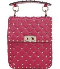 valentino garavani rockstud spike small handbag