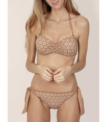 bikini admas sand desert 2-delig push-up bandeau bikiniset
