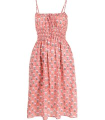 ciao lucia all-over floral print dress - pink