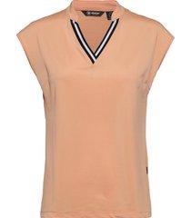 lds sandy cupsleeve t-shirts & tops sleeveless oranje abacus