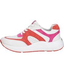 sneakers caprice vit::korall::cerise