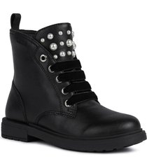 geox eclair bootie, size 13us in black oxford at nordstrom