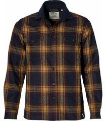 anerkjendt overhemd - slim fit - oranje