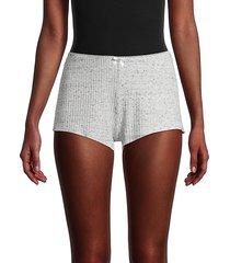 willow rib-knit shorts