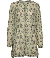 iana blouse lange mouwen groen masai