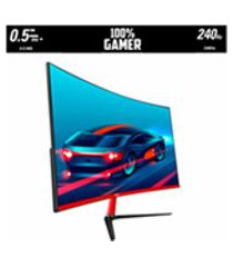 monitor gamer 27p curvo 240hz 05ms led full hd hdmi/display port/usb hq 27hq-led pro r3000