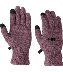 guante biosensor liners morado outdoor research