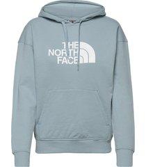 w lht drew peak hd hoodie trui blauw the north face