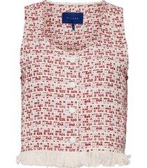caprirs top vests padded vests rood résumé