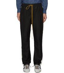 'collegiate' side stripe track pants