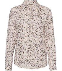 fqadney-sh-ls-flounce-adana långärmad skjorta rosa free/quent