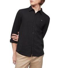 calvin klein men's liquid touch shirt