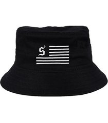 chapéu bucket skull clothing skull team - unissex